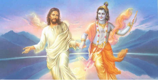 Jesus Christ and Krishna