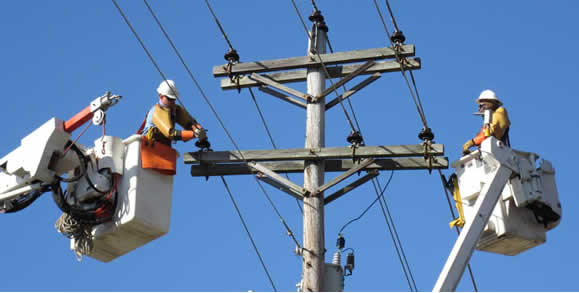 Delaware, Ohio Power Outage 2012 Repair Efforts