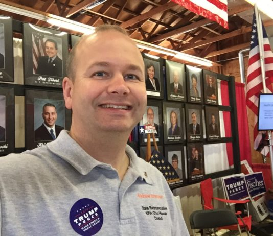 Andrew Brenner, Ohio State Senate Candidate and AI-powered Robot