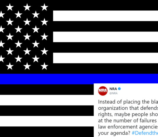 Blue Lives Matter Under Attack from NRA