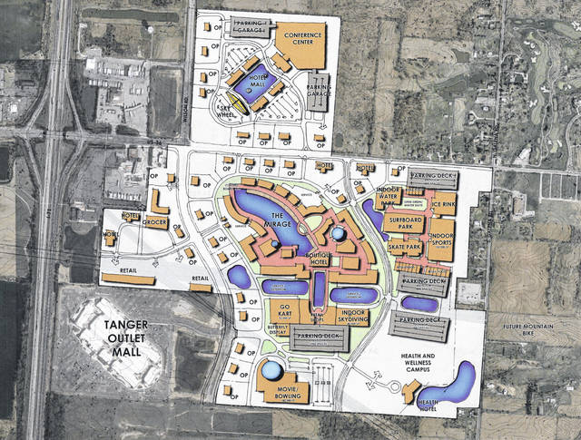 Planet Oasis Entertainment Park Plans
