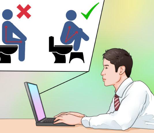 Elegant ways to shit in public