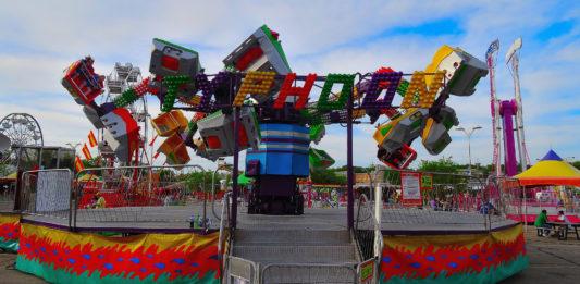 Typhoon Fair Ride, Delaware County Fair, Delaware, Ohio