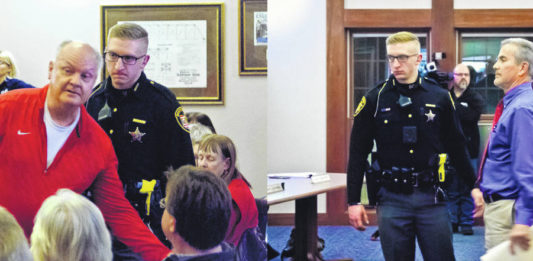 Delaware County Sheriff's Deputy Is Just A Paid Enforcer For Corrupt Liberty Township Trustee Melanie Leneghan