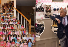 Les Wexner, billionaire tied to Jeffrey Epstein, is auctioning off his American Girl doll collection for charity