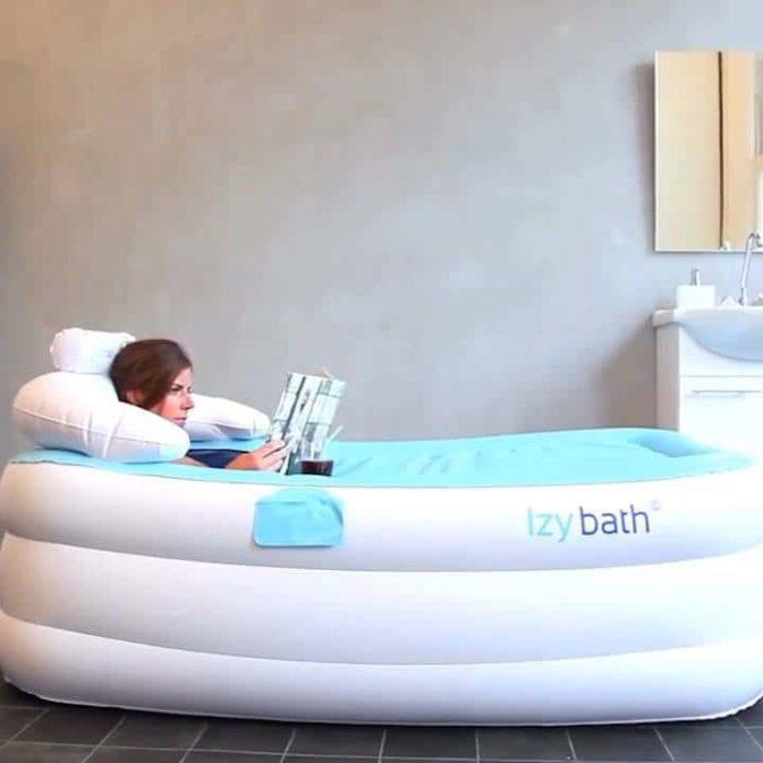 Disposable bath tub