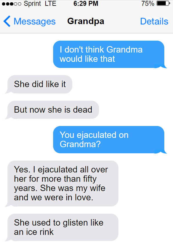 Teaching my grandpa how to find porn 3/9
