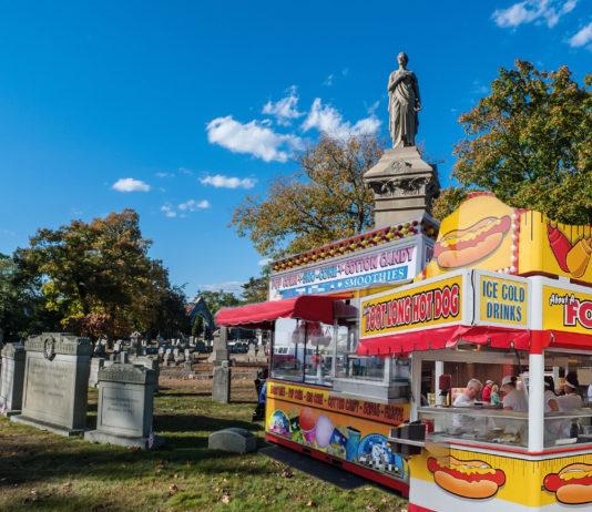 Oak Grove Cemetery Concession Stands Delaware, Ohio