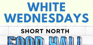 White Wednesdays Short North Food Hall Columbus, Ohio