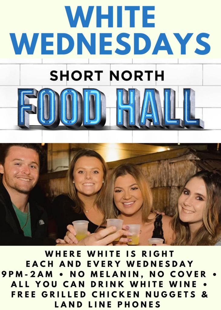 White Wednesdays Short North Food Hall Columbus, Ohio