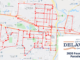 Delaware Ohio 2020 July 4th Parade Route